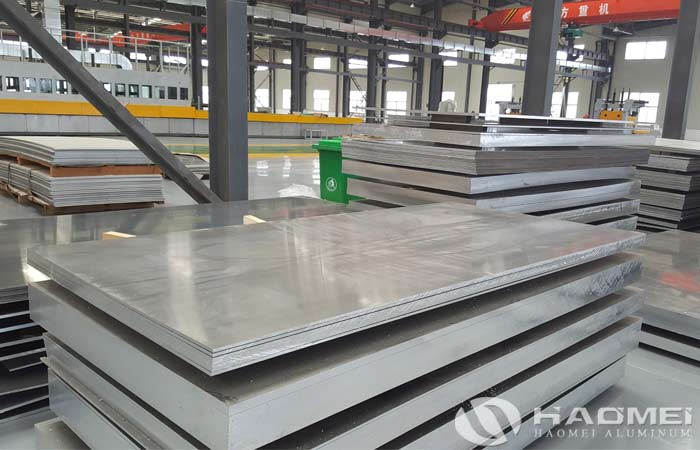 antirust aluminium plate