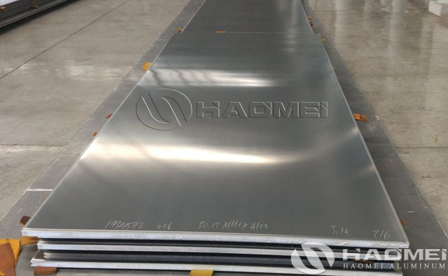 aluminum plate for auto