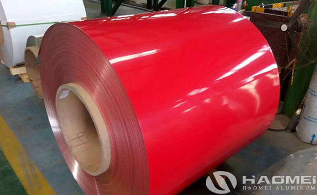 prepainted 3003 aluminum coil