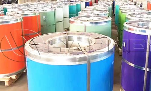 Haomei coated aluminium coil in stock