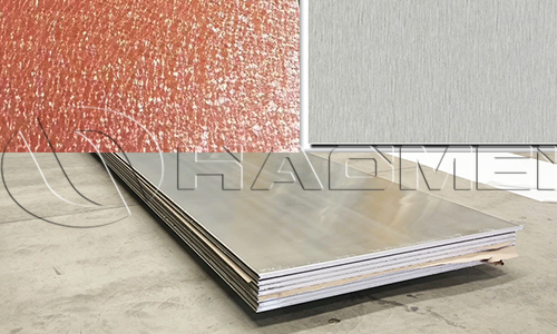 textured aluminum sheet metal