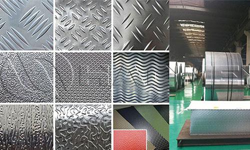 textured aluminum sheet metal