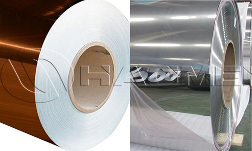 gold and silver mirror finish anodized aluminum coil rolls