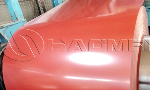 0.24mm-3.0mm thick 3003 color coated aluminum coil