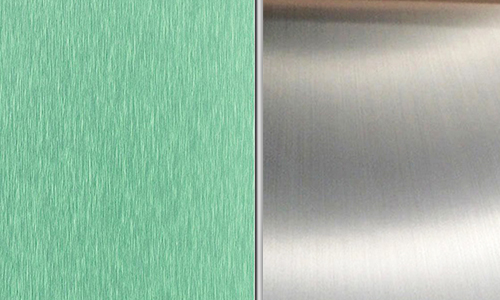 Brushed aluminium sheet VS mill finish aluminum sheet