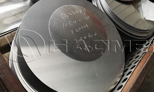 Piles of 3003 aluminum disc circle for pressure cooker