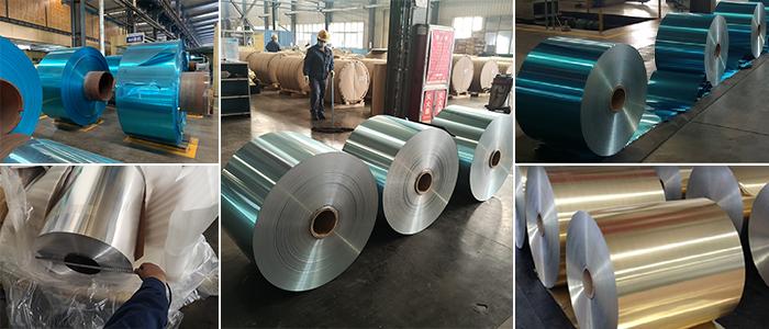 hydrophilic aluminium fin stock and mill finish aluminum foil for fin stock