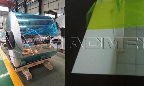 China reflective aluminum sheet for sale