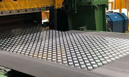 Anti-skid aluminium checker plate 5754