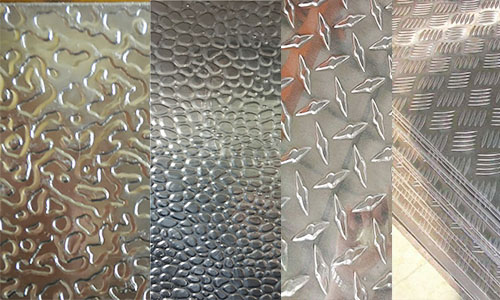 checker plate aluminium embossed patterns