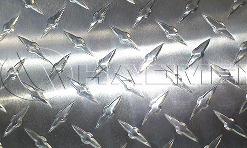 embossed aluminum diamond checker plate roll