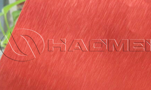 red anodized aluminum sheet