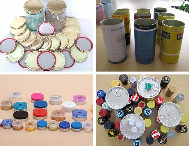 Application examples of aluminium sheet for bottle cap