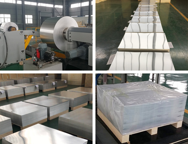 From raw material to bottle cap aluminum sheets
