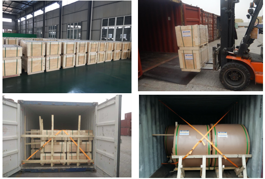 packing of aluminium sheet and coil for bottle cap
